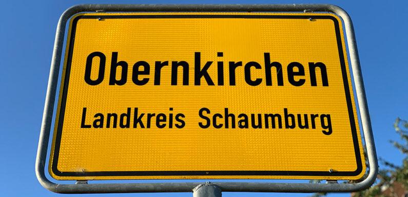 Bauarbeiten wegen Wasseraustritt auf Landesstraße 447 in Obernkirchen