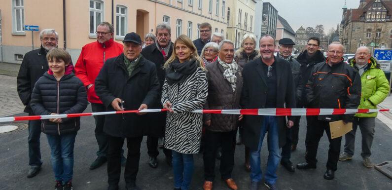 """Bückeburg: Eine-Million-Euro-Projekt """"Bahnhofstraße"""" freigegeben"""