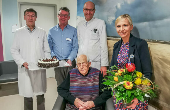 100 Jahre: Patient feiert runden Geburtstag im Klinikum