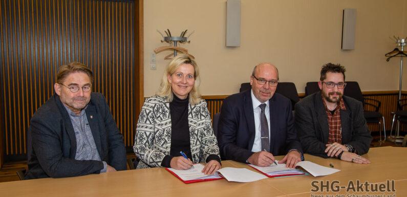 Agentur für Arbeit und Landkreis Schaumburg unterzeichnen gemeinsame Kooperationsvereinbarung