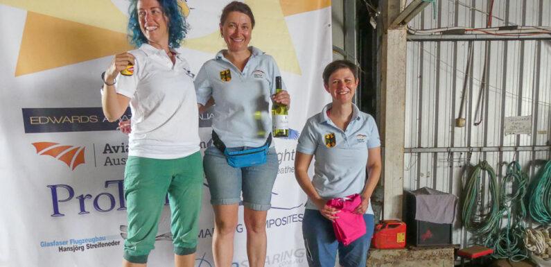 Segelflugweltmeisterschaft der Frauen in Australien: Christine Grote ist Vize-Weltmeisterin
