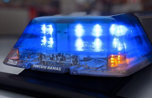 Heeßen: Einbruch in Netto-Markt / Polizeihubschrauber im Einsatz