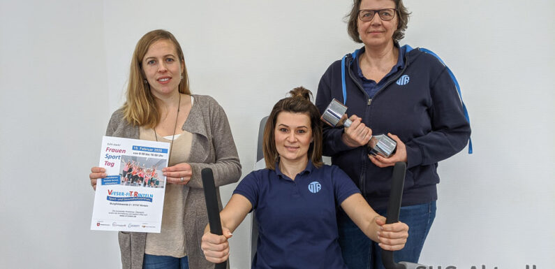 1. Frauensporttag im Weser-Fit-Rinteln Sport und Gesundheitszentrum