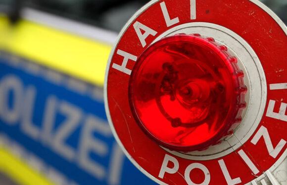 Verfolgungsfahrt von Minden nach Bückeburg: Mercedes flüchtet mit bis zu 180 km/h vor Polizei