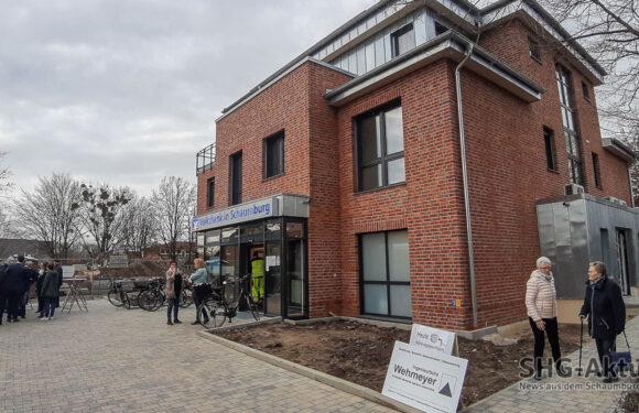 """Volksbank in Schaumburg zieht in neue Filiale in """"Grüner Mitte"""" von Helpsen"""