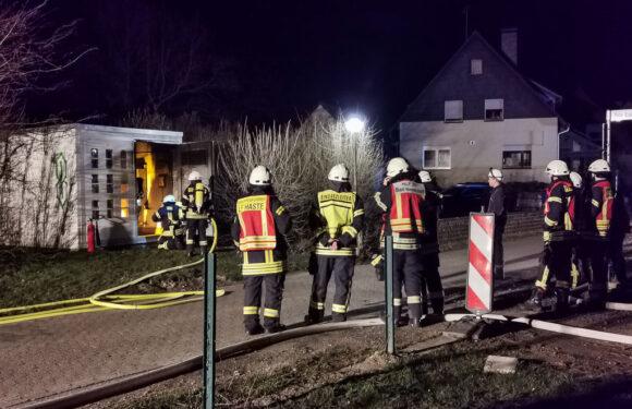 Trafobrand löst Feuerwehreinsatz in Haste aus