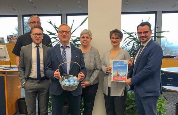 Lions Club Bad Eilsen – Weserbergland: Ostereier-Aktion für den guten Zweck