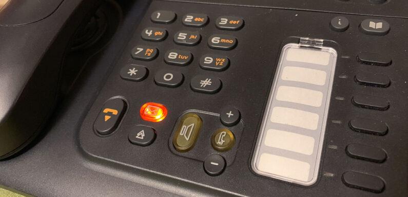 Polizei warnt: Anrufe falscher Krankenkassen-Mitarbeiter