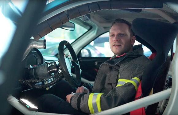 (Video) Feuerwehr zu Gast im Rennstall: Besonderheiten von Carbon bei Unfall oder Fahrzeugbrand