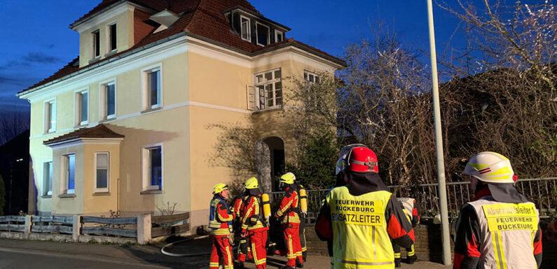 Bückeburg: Feuerwehreinsatz in der Maschstraße
