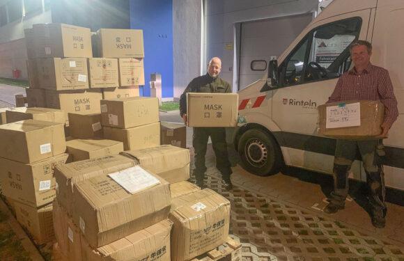 Landkreis Schaumburg und Stadt Rinteln bekommen 100.000 OP- und FFP2-Schutzmasken aus China