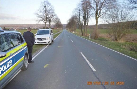 Unfallflucht in Bad Eilsen: Polizei sucht Ford Transit