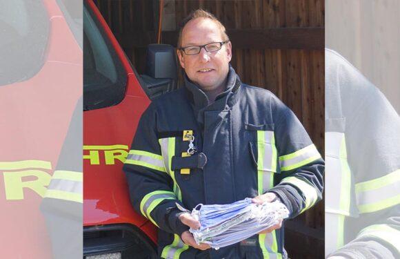 Samtgemeindefeuerwehr Sachsenhagen freut sich über gespendete Alltagsmasken