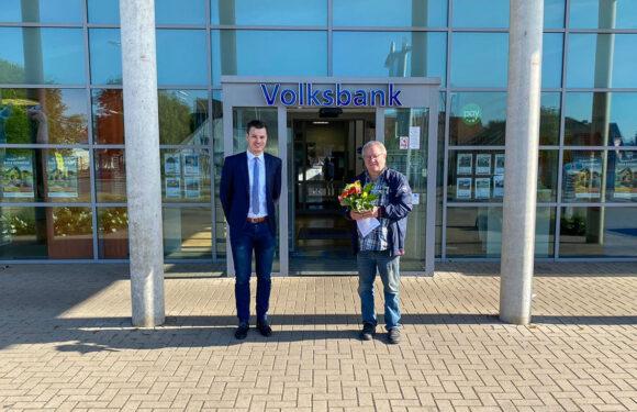 5.000 Euro beim VR-Gewinnsparen der Volksbank gewonnen