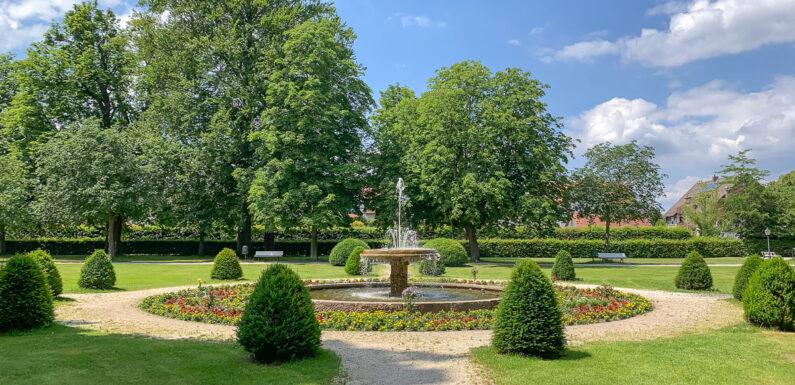 Stadthagen: Aktueller Stand beim Pflege- und Entwicklungskonzept für den Schlossgarten