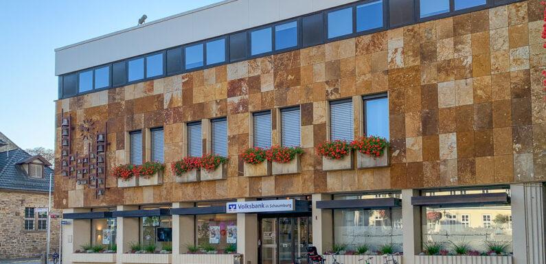"""Volksbank in Schaumburg erweitert Öffnungszeiten: """"Persönlich erreichbar und digital gut aufgestellt."""""""