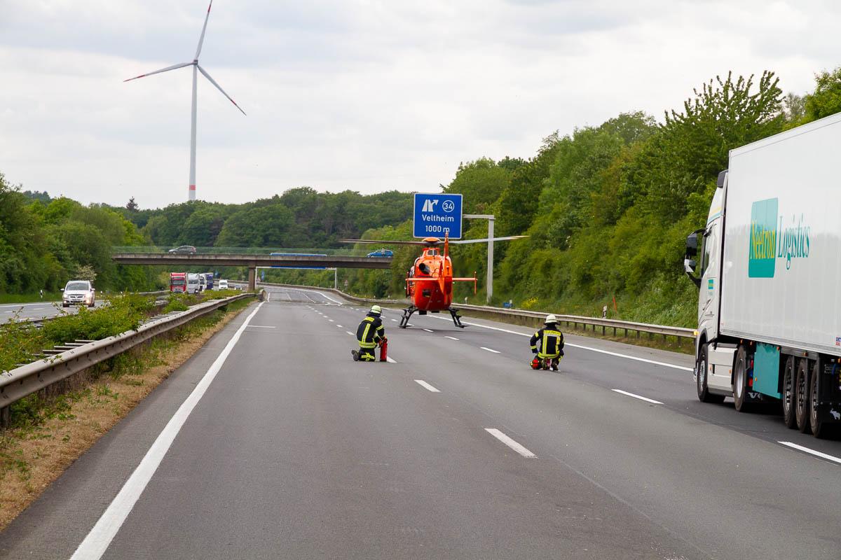 Unfälle A2 Aktuell