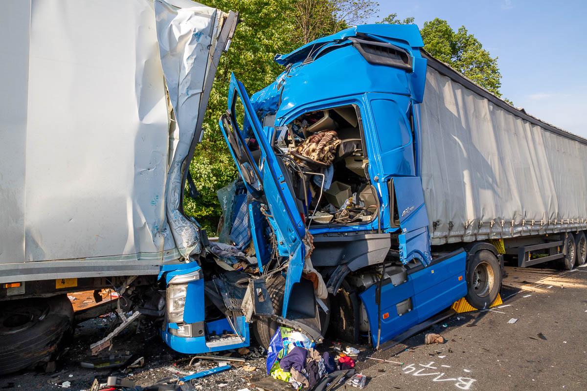Lkw Unfall B317 Heute