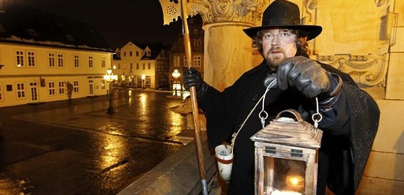 Rundgang mit dem Nachtwächter durch Bückeburg
