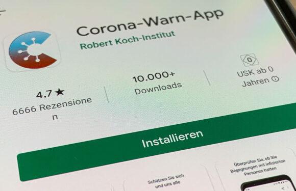 Corona-Warn-App ab sofort für Smartphones mit iOS und Android erhältlich