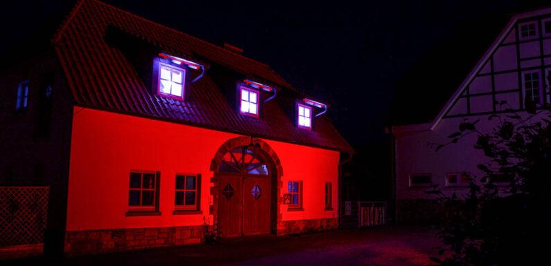 """""""Night of Light"""": Auch Hespe erstrahlt in rotem Licht"""