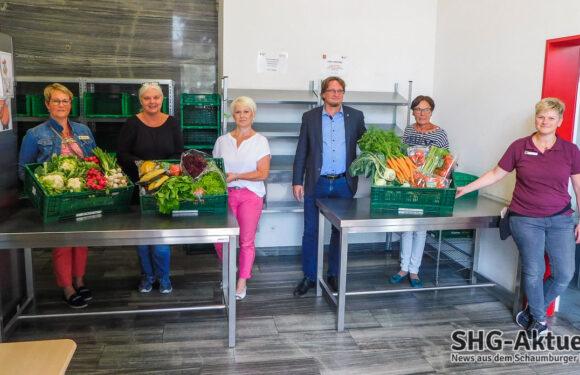 Lions-Club Bad Eilsen-Weserbergland sichert durch Spende Gemüsekisten der Tafel Obernkirchen