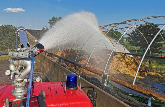 Bückeburg: Feuerwehr beendet Einsatz nach 10 Stunden in Sommerhitze / Weiteres Feuer gemeldet