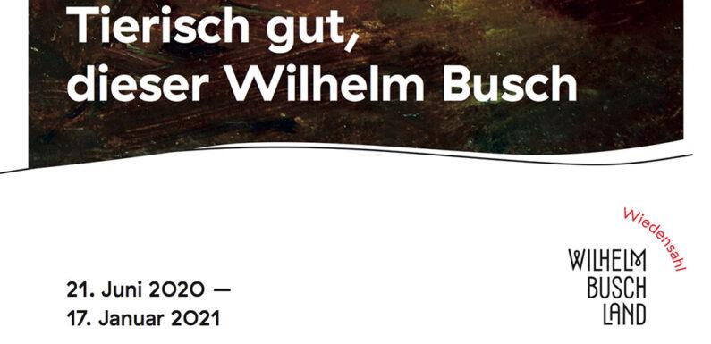 Tierisch gut, dieser Wilhelm Busch: Ausstellung mit Originalen zu animalischen Motiven des Künstlers