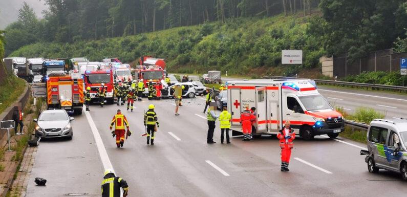 Verkehrsunfall A2 Heute