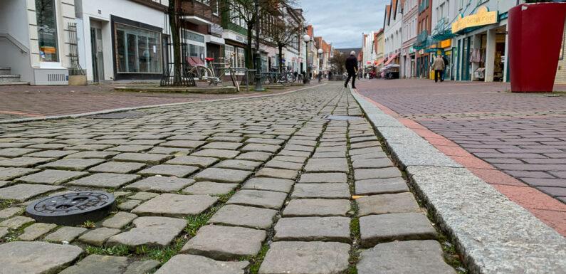 Stadthagen: Testweise Pflasterung zur Altstadtsanierung