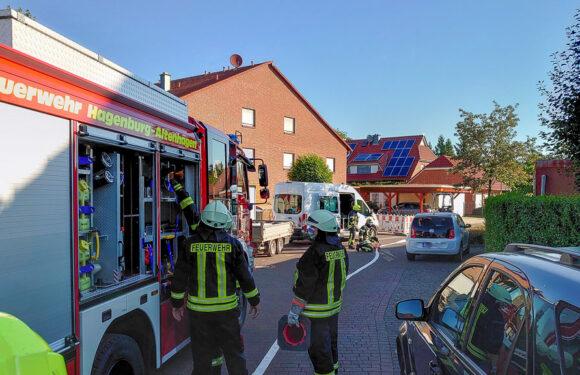 Hagenburg: Gasleitung bei Arbeiten beschädigt