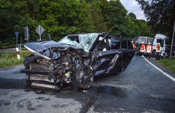 Schwerer Verkehrsunfall in Pollhagen: Rettungshubschrauber im Einsatz