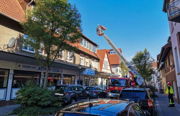 Bückeburg: Sperrung der Wallstraße wegen Personenrettung