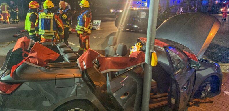 Bückeburg: Schwerer Verkehrsunfall mit schwer verletzter Frau / Gaffer sorgen erneut für Schlagzeilen