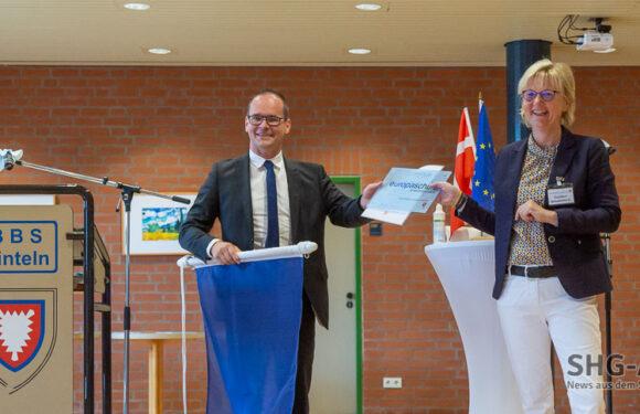 """Berufsbildende Schulen in Rinteln sind jetzt """"Europaschule"""""""
