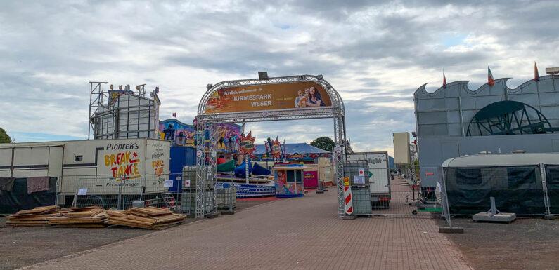 "Minden startet Kirmespark Weser: ""Kirmesflair und größter Biergarten der Region als positives Signal"""