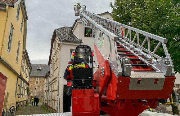 Feuerwehreinsatz wegen Rauchentwicklung in Bückeburger Innenstadt