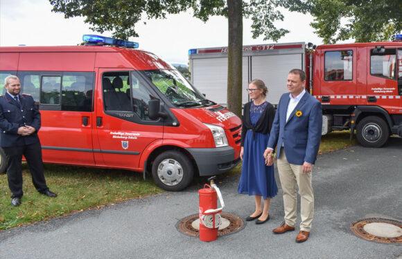Großaufgebot der Feuerwehr in Scheie