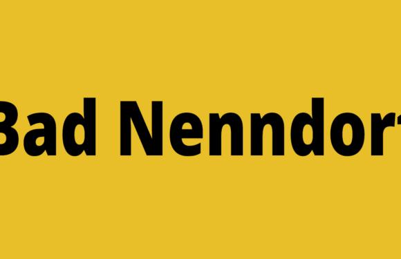 Hallenbad Bad Nenndorf in den Sommerferien geöffnet