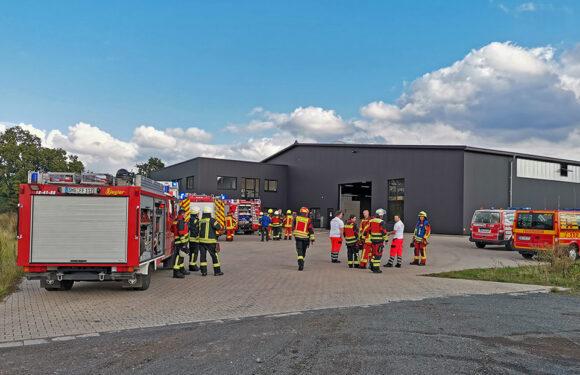 Schwelbrand löst Feuerwehreinsatz bei Pinta in Bückeburg aus