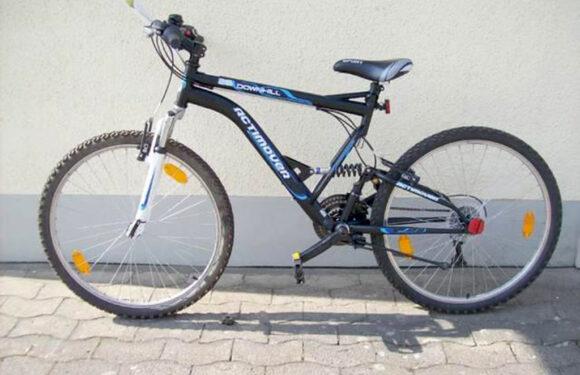 Mountainbike auf Adolfinum-Gelände geworfen