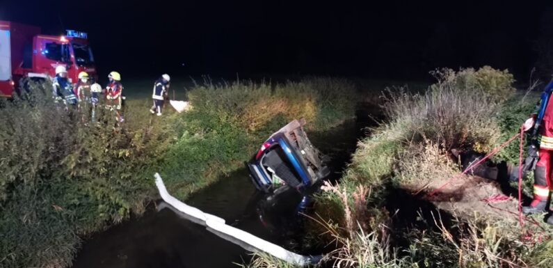 Schwerer Verkehrsunfall am Gevattersee in Bückeburg