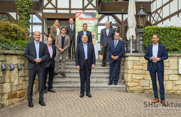 Rinteln: CDU zu Besuch bei WeserGold