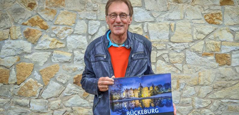 Bückeburg, Rinteln und Stadthagen in DIN A3: Rolf Fischer stellt neue Bildkalender vor