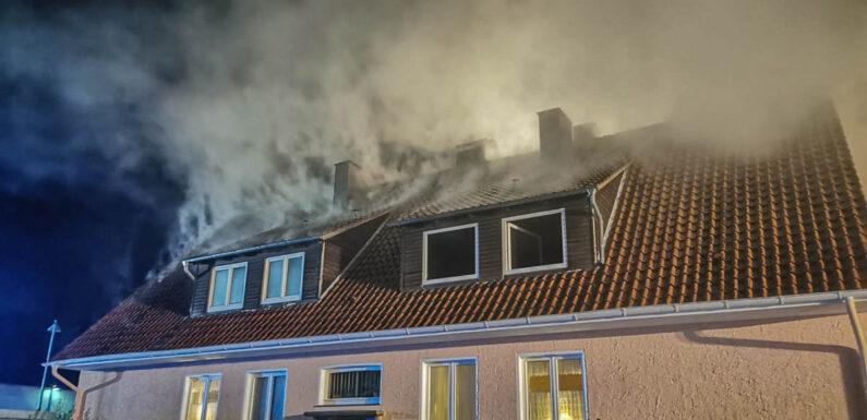 Feuerwehr Bückeburg im Großeinsatz: Person aus Lebensgefahr gerettet