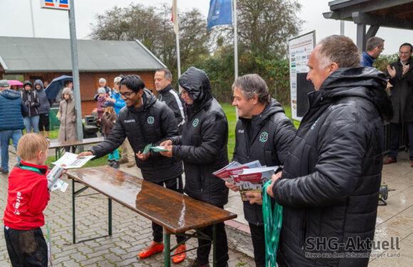 Mit Unterstützung der Volksbank in Schaumburg: Hannover 96 Fußballschule beim VfR Evesen erfolgreich gemeistert