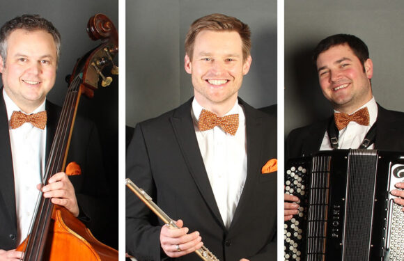 """Alltag raus, Musik an: Dämmerschoppen mit Jazz-Trio """"Das Taschengrammophon"""""""