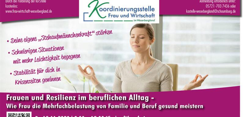 Koordinierungsstelle Frau und Wirtschaft: Online-Seminare statt Präsenz-Workshops