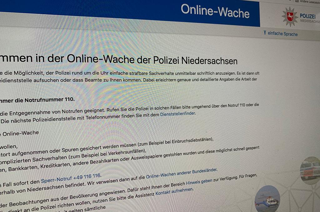 Polizei Köln Anzeige Online