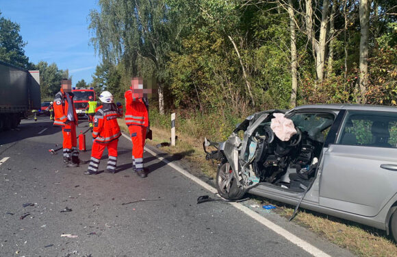 B83 bei Bückeburg nach tödlichem Verkehrsunfall stundenlang gesperrt